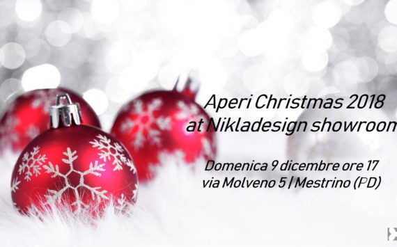 Aperi-Christmas al Nikladesign Showroom